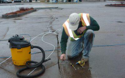 Oxygen Enhanced Bio-Remediation at an Active Gasoline Station
