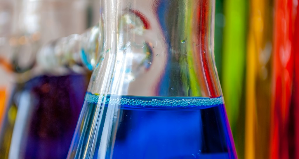 Chemistry blue feeling