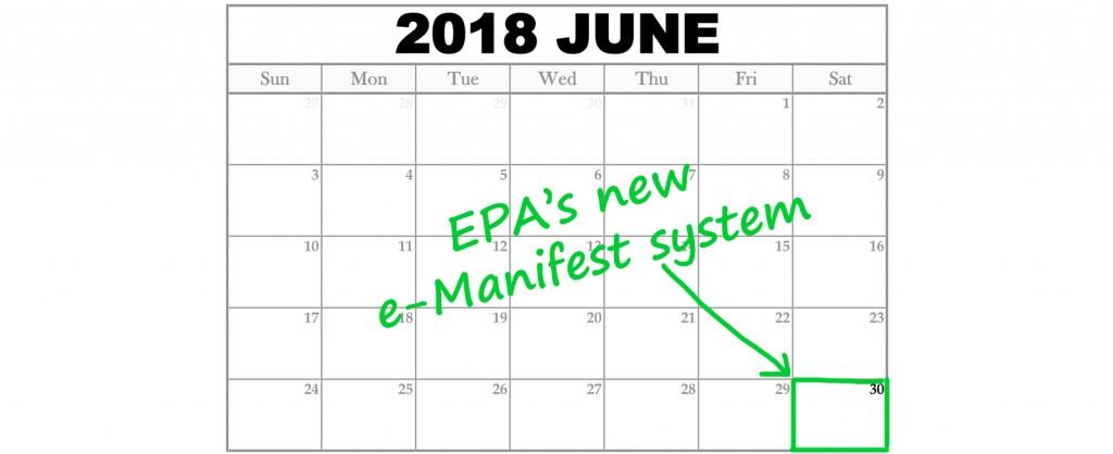 EPA e-manifest