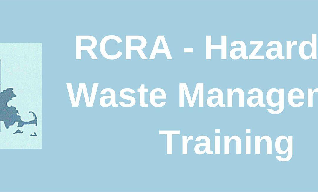 Hazardous Waste Regulations – Massachusetts Course Completion