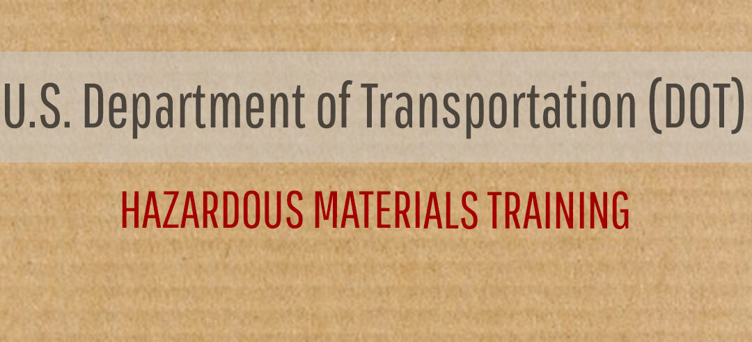 US DOT Training – Who Needs It?