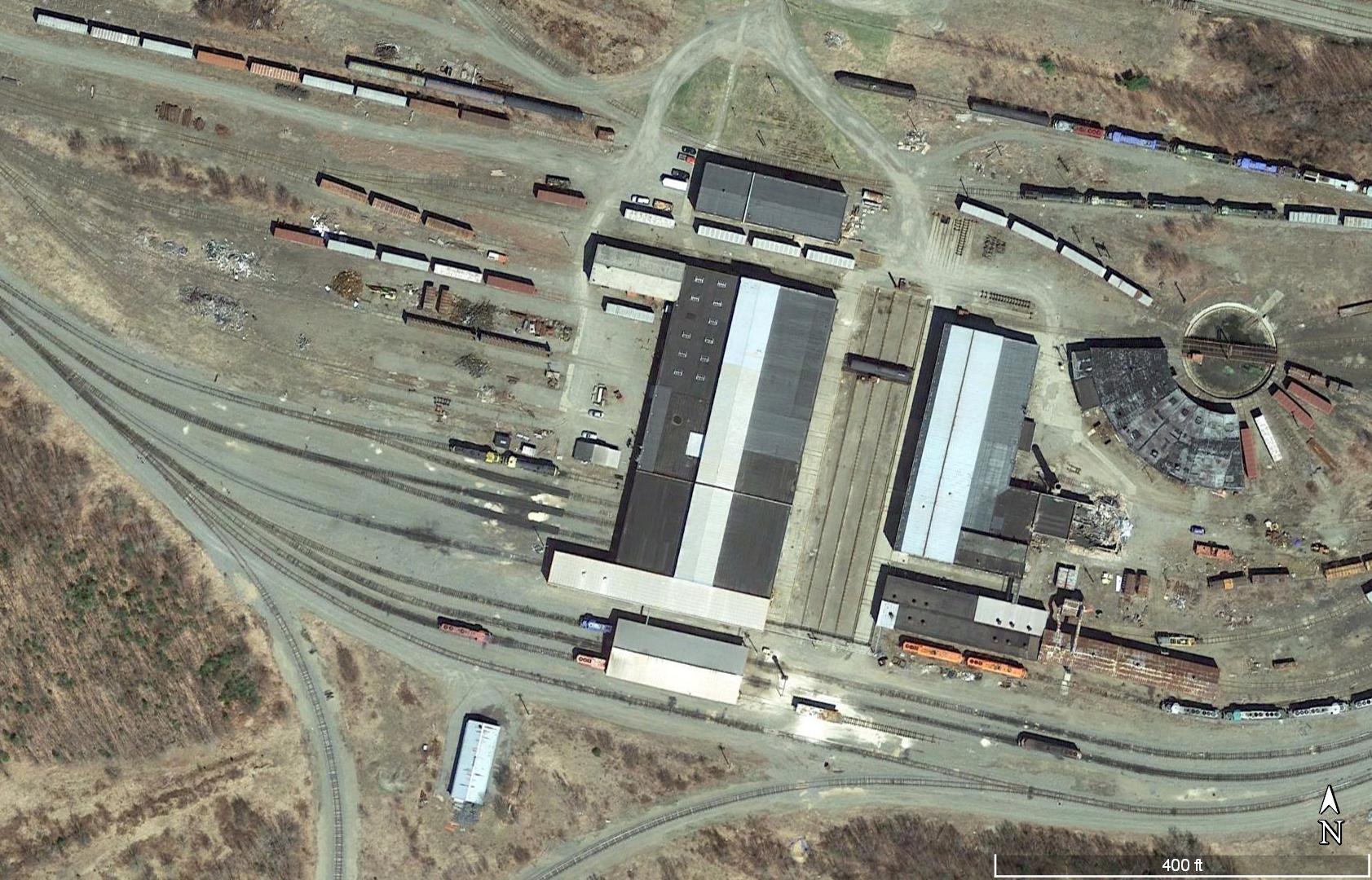 Phase II railyard image
