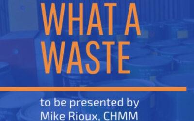 What a Waste Presentation